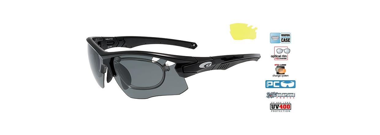 Cykelbriller - L&oslash;bebriller - Skisolbriller - Vandsport Solbriller<br>
