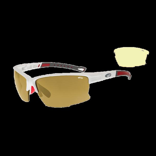 Goggle E583-3 Revo Gold incl. 2 sæt linser
