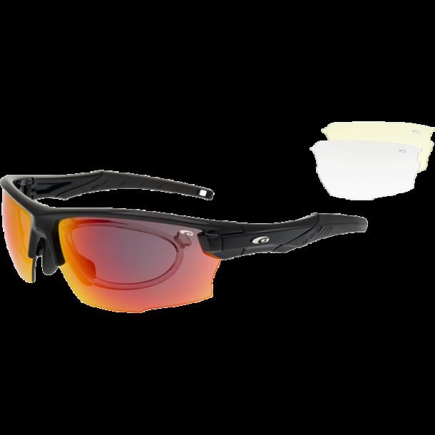 Goggle E604-1R Incl. 3 sæt linser og optisk indsats.
