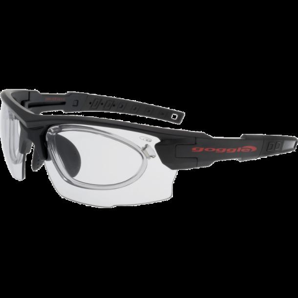 Goggle E843-1R Fotokromiske linser og optisk indsats.