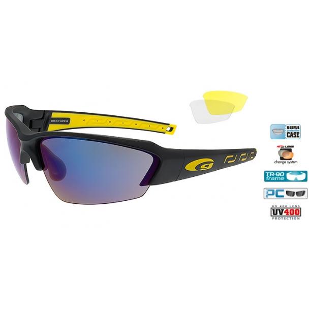 Goggle E855-2 incl. 3 sæt linser