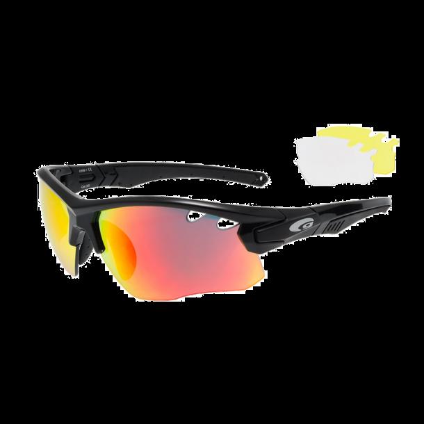 Goggle E858-1 incl. 3 sæt linser