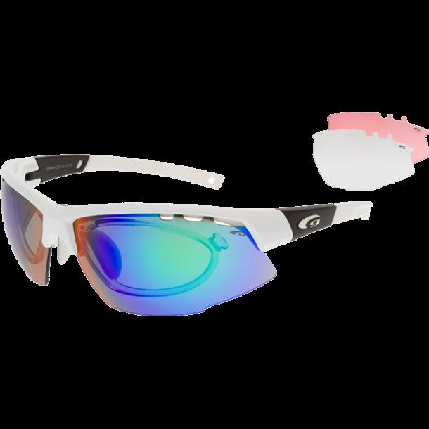 Goggle E864-4R incl. 3 sæt linser og optisk indsats.