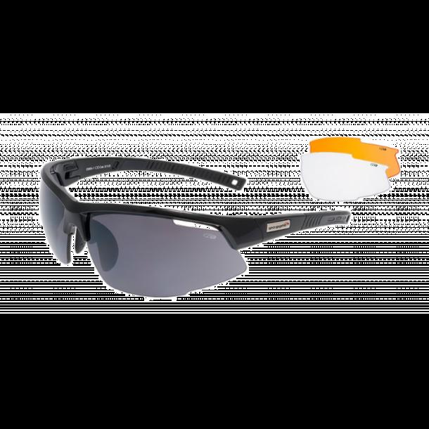 Goggle E865-1 incl. 3 sæt linser