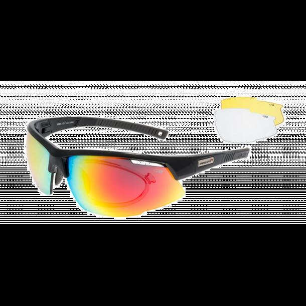 Goggle E865-2R incl. 3 sæt linser og optisk indsats