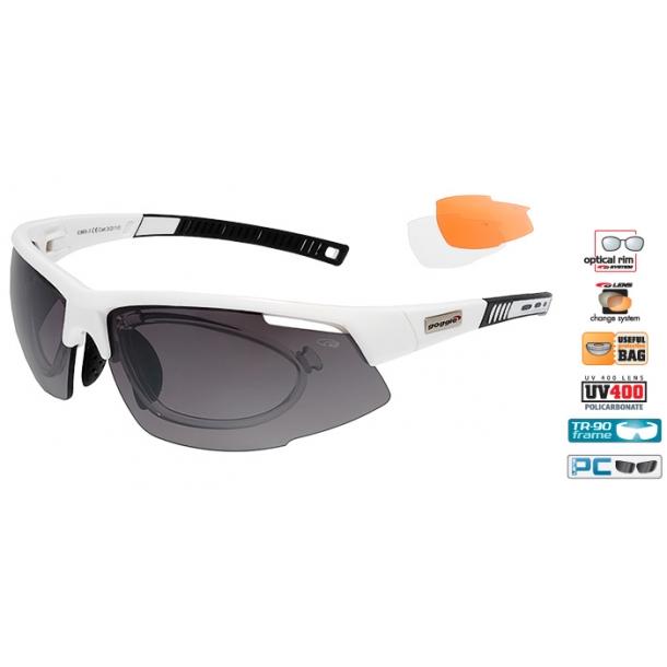 Goggle E865-3R incl. 3 sæt linser og optisk indsats.