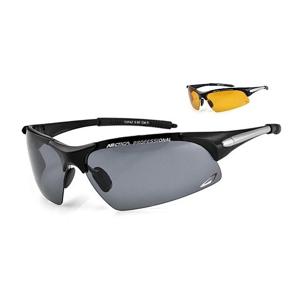 ARCTICA S-82 sportbrille incl. 2 sæt linser.