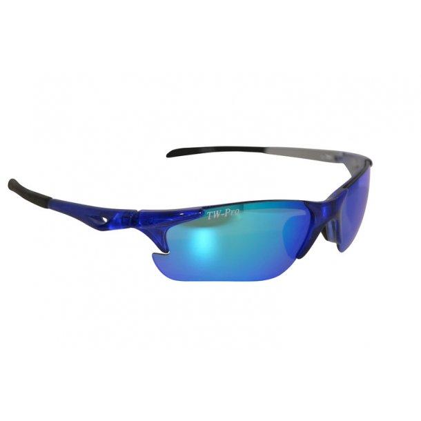 TW-336 X-tal Blue løbebrille/cykelbrille