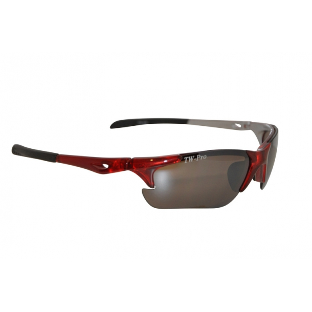 TW-336 X-tal Red løbebrille - cykelbrille