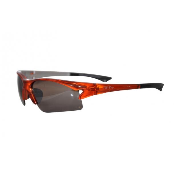 TW-342 X´tal Orange løbesolbrille - cykelsolbrille