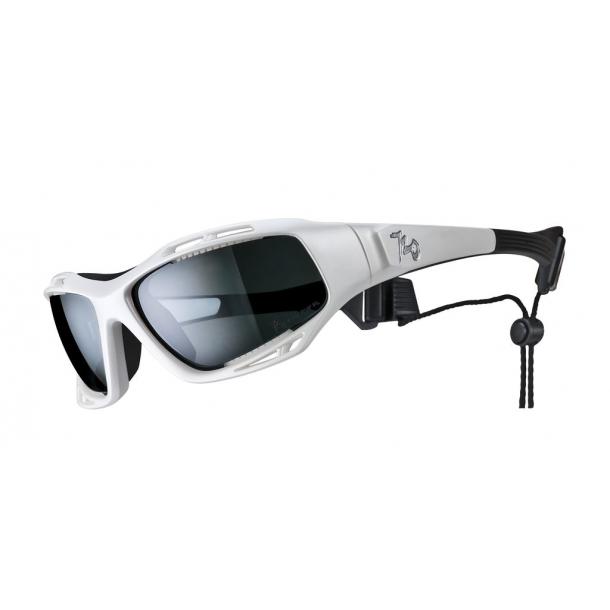 Armour Stingray sportsolbrille Pearl White med Polaroid linse